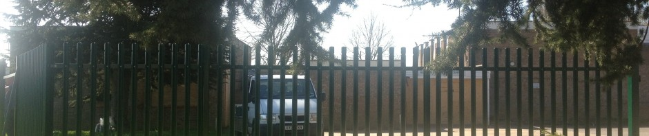 New security fence being erected at Hutton Community Centre
